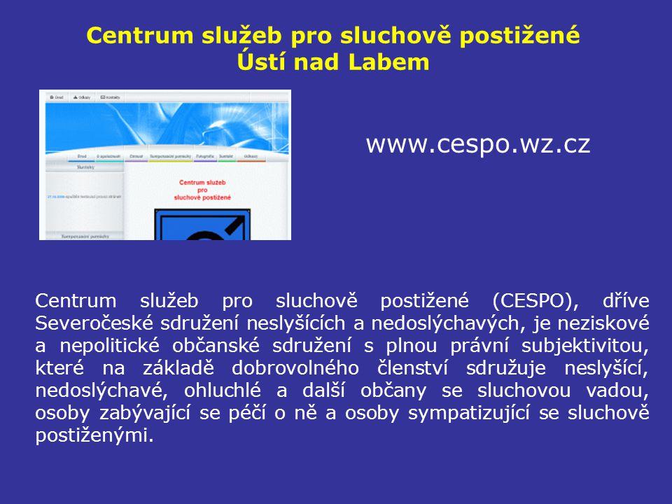 Centrum služeb pro sluchově postižené Ústí nad Labem