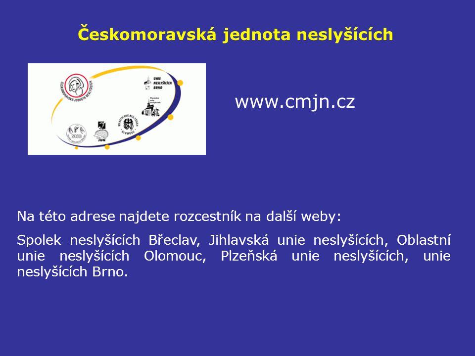Českomoravská jednota neslyšících