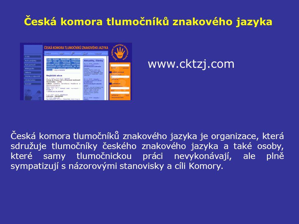 Česká komora tlumočníků znakového jazyka
