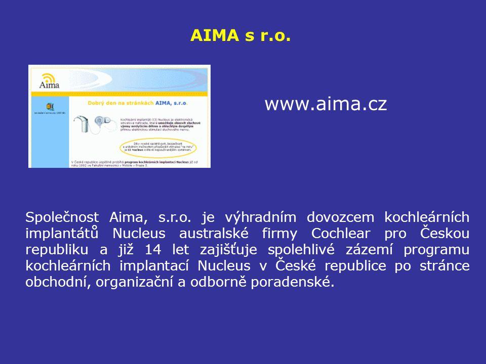 AIMA s r.o. www.aima.cz.