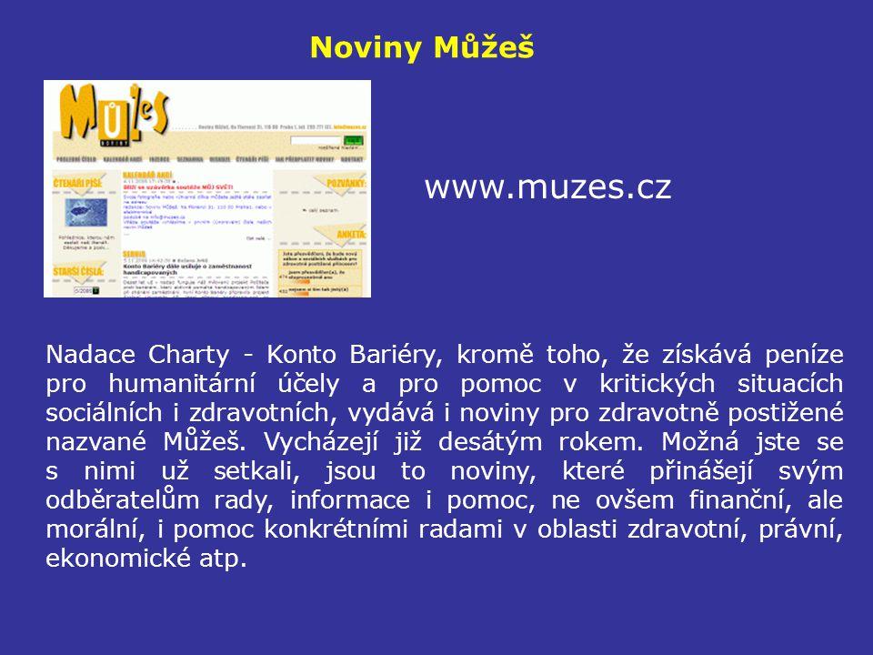 www.muzes.cz Noviny Můžeš