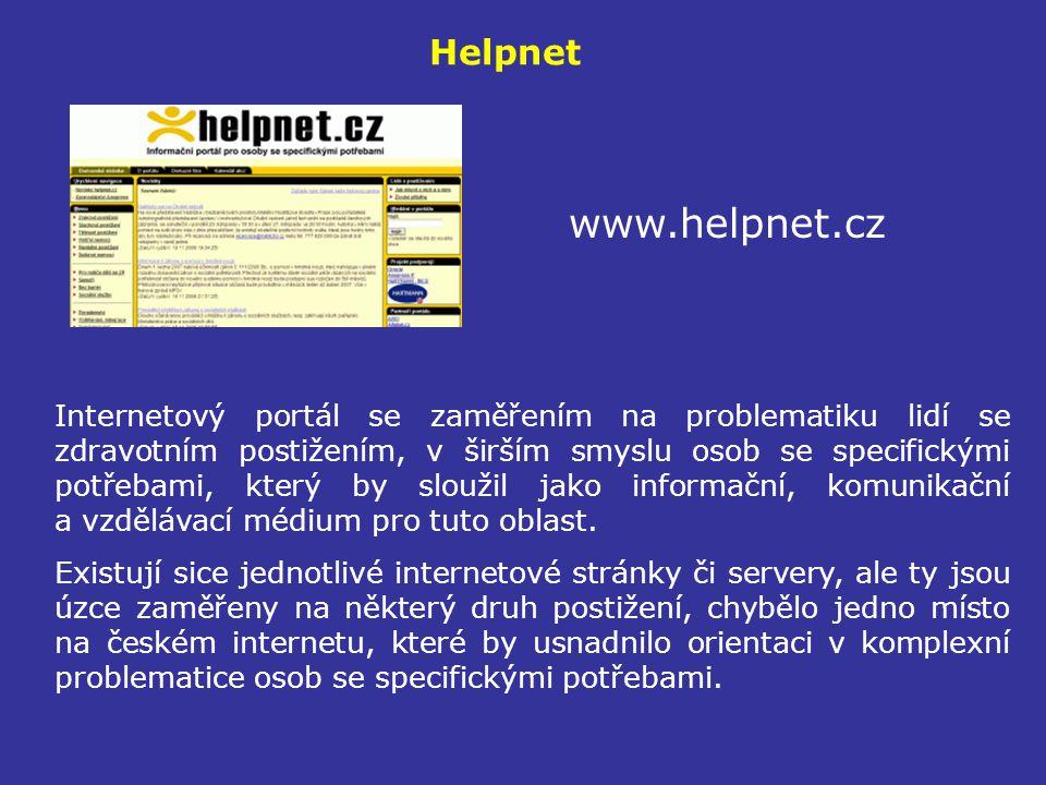 Helpnet www.helpnet.cz.