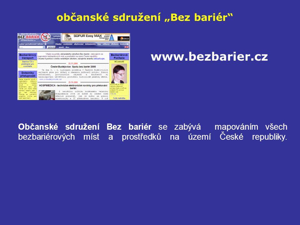 """občanské sdružení """"Bez bariér"""