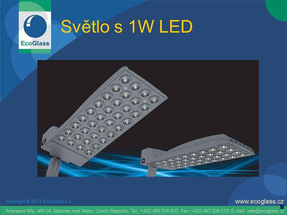 Světlo s 1W LED