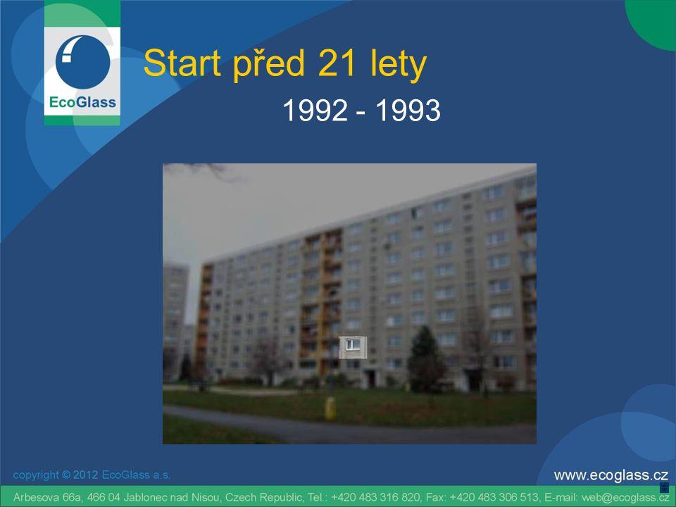 Start před 21 lety 1992 - 1993