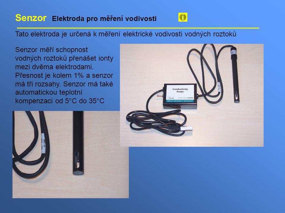 Senzor Elektroda pro měření vodivosti