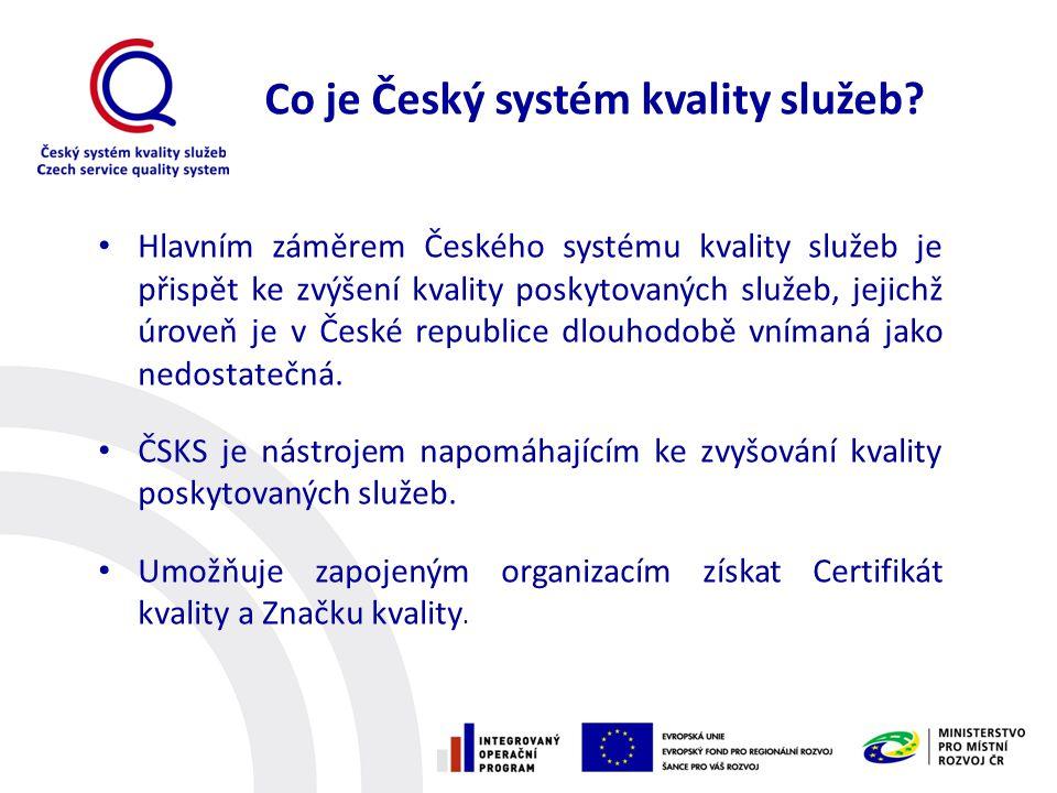 Co je Český systém kvality služeb
