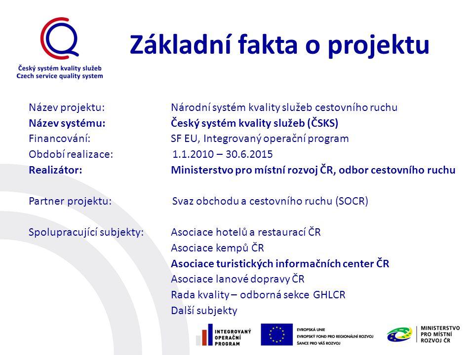 Základní fakta o projektu