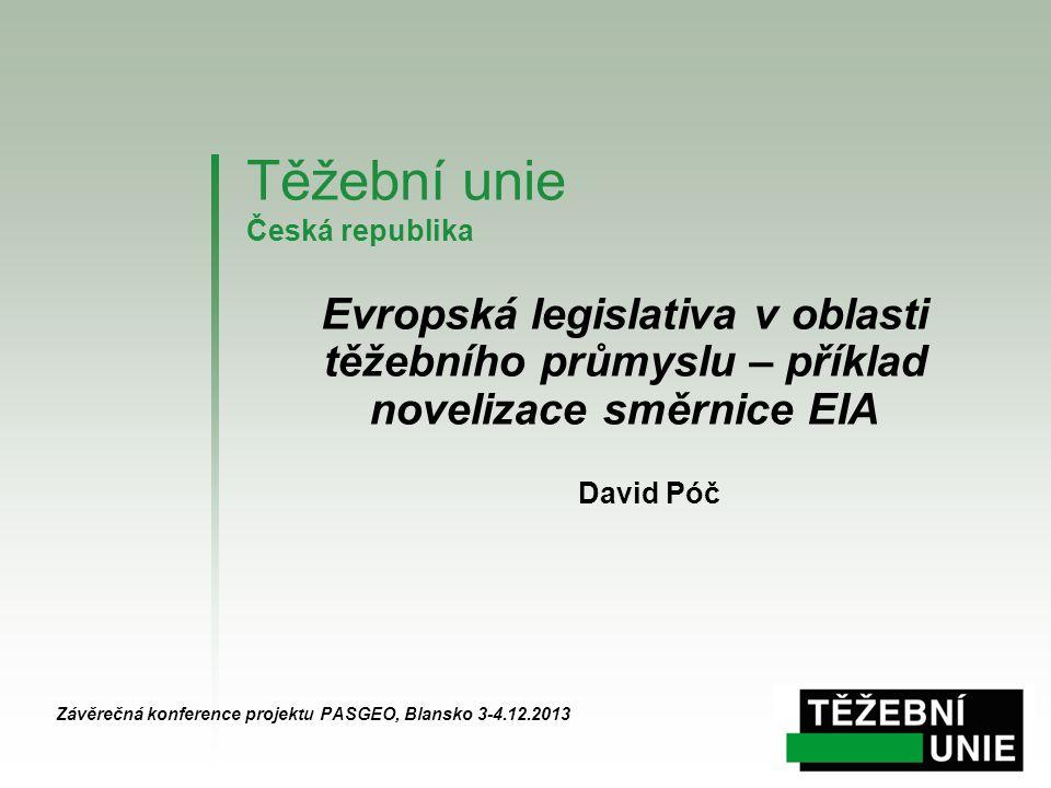 Těžební unie Česká republika
