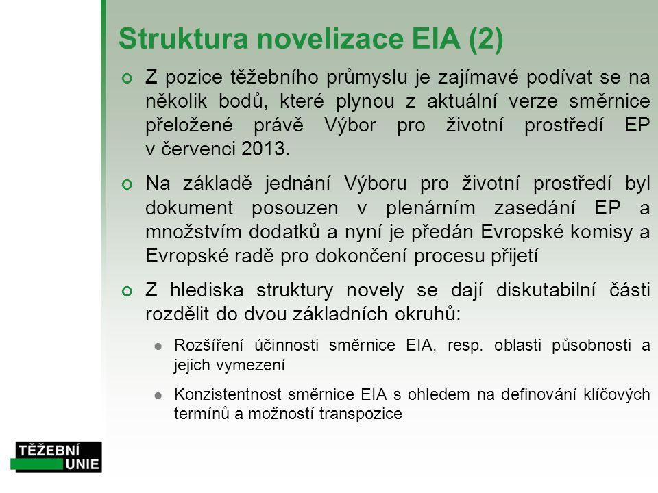 Struktura novelizace EIA (2)