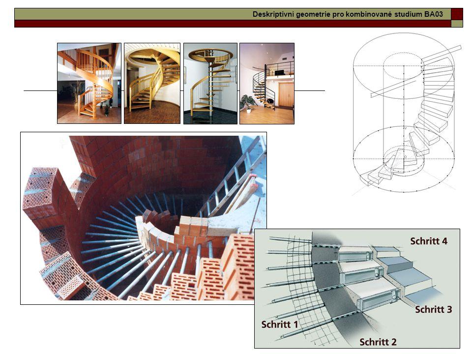 Deskriptivní geometrie pro kombinované studium BA03