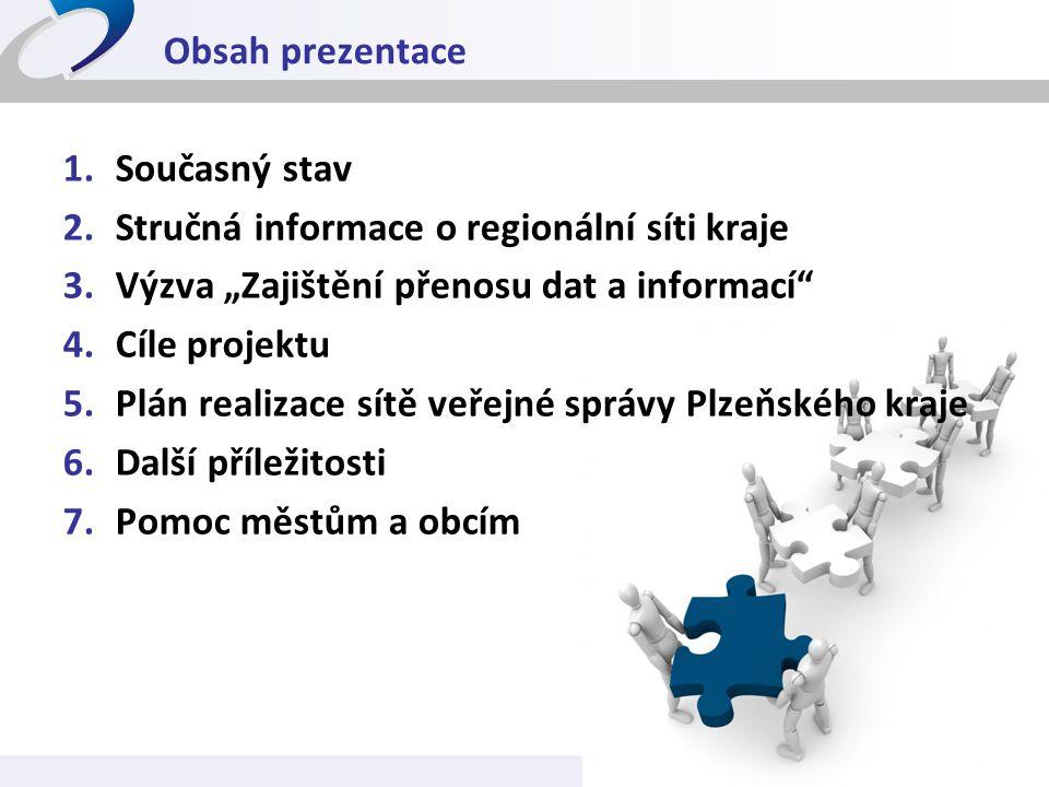 Stručná informace o regionální síti kraje