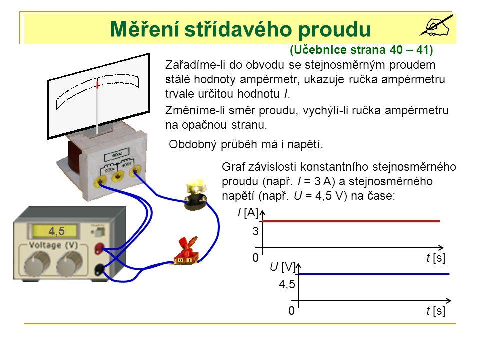 Měření střídavého proudu