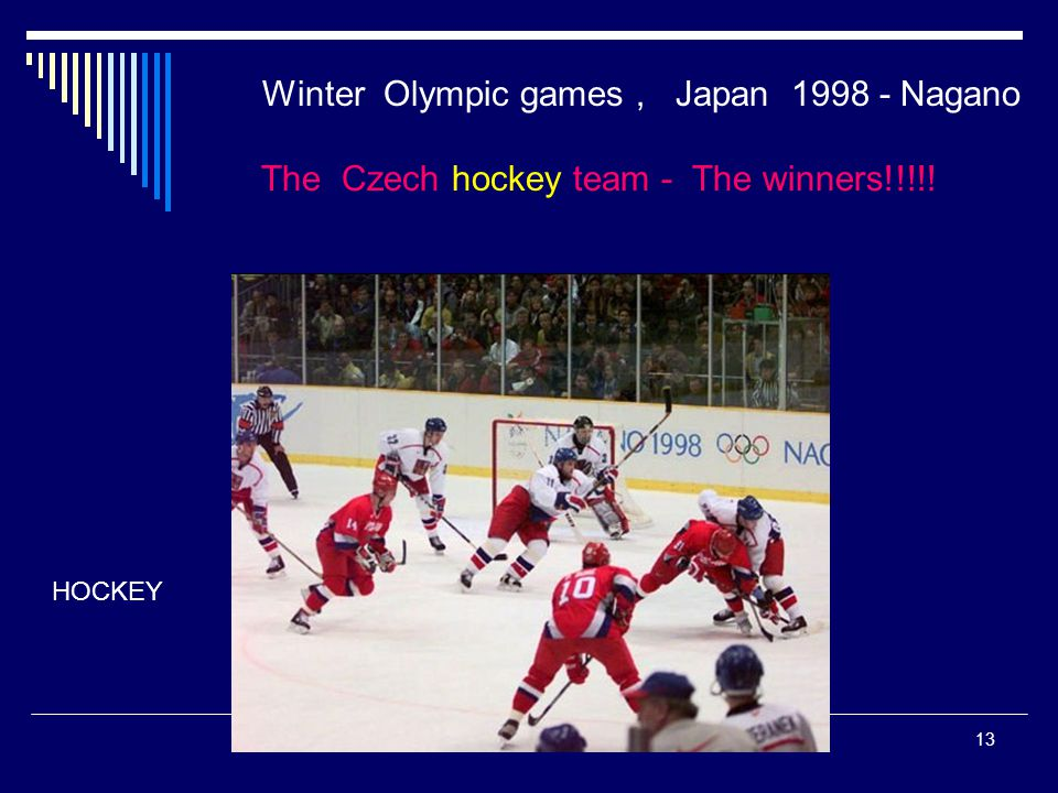 Winter Olympic games , Japan 1998 - Nagano