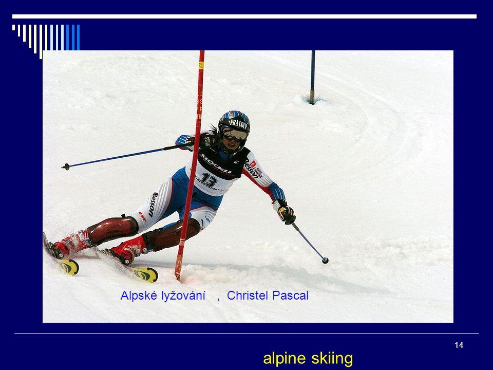 Alpské lyžování , Christel Pascal