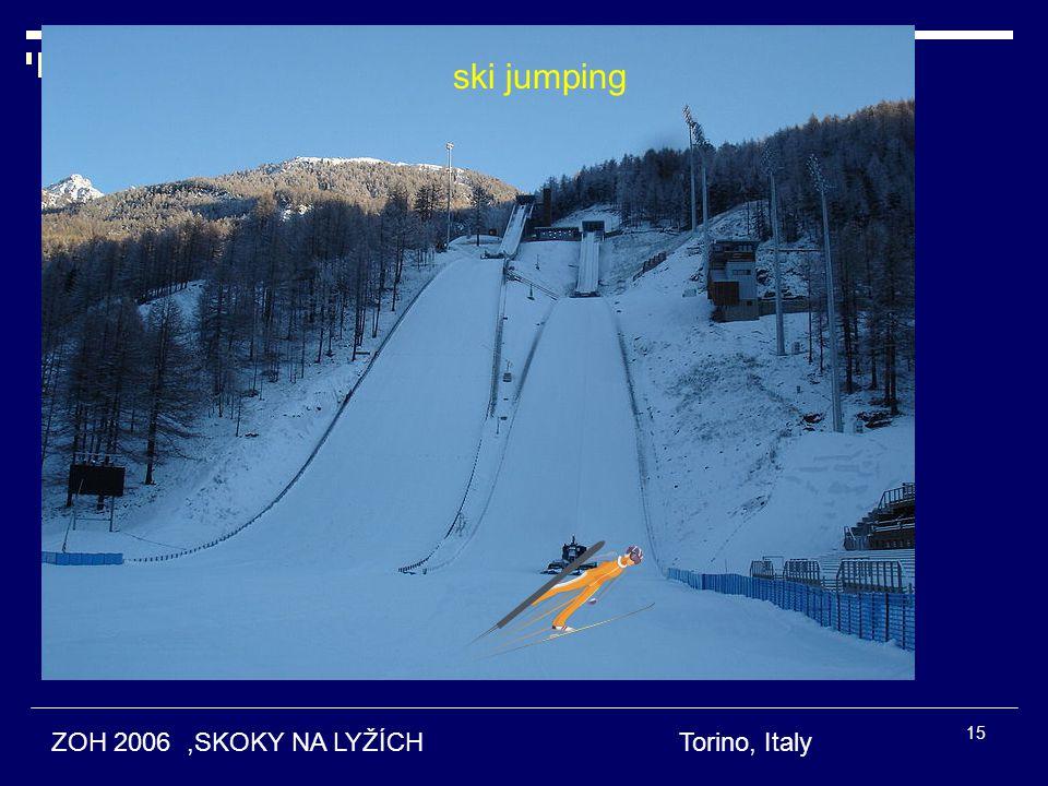 ski jumping ZOH 2006 ,SKOKY NA LYŽÍCH Torino, Italy