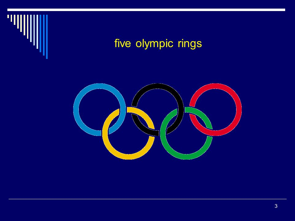 five olympic rings