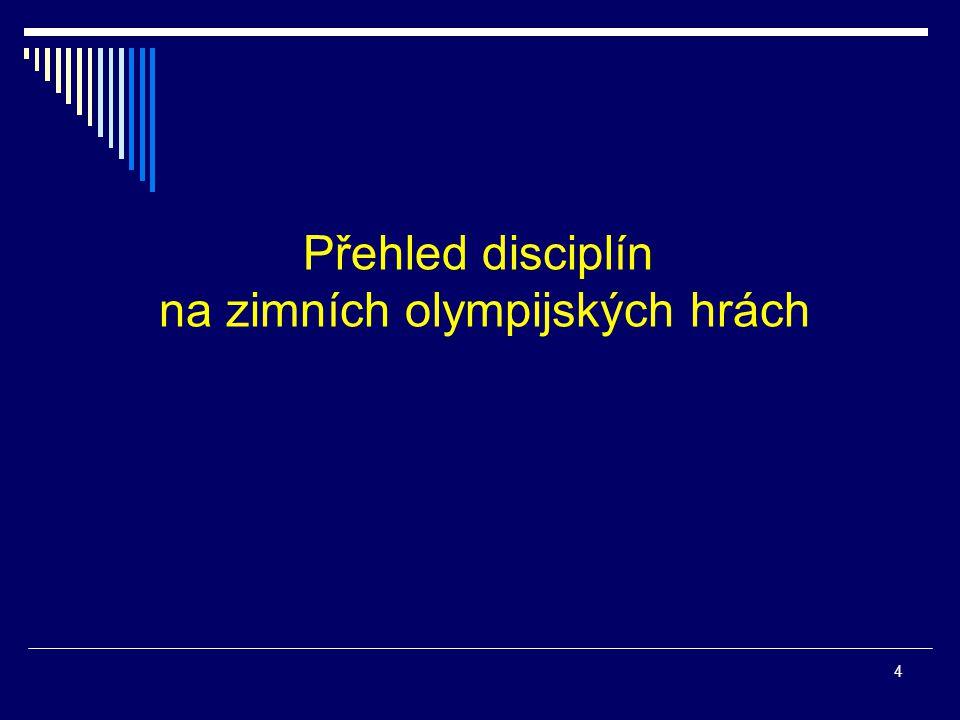 na zimních olympijských hrách