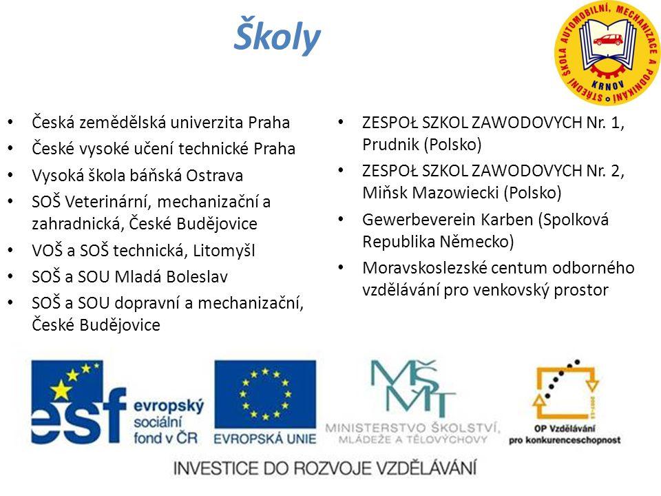 Školy Česká zemědělská univerzita Praha