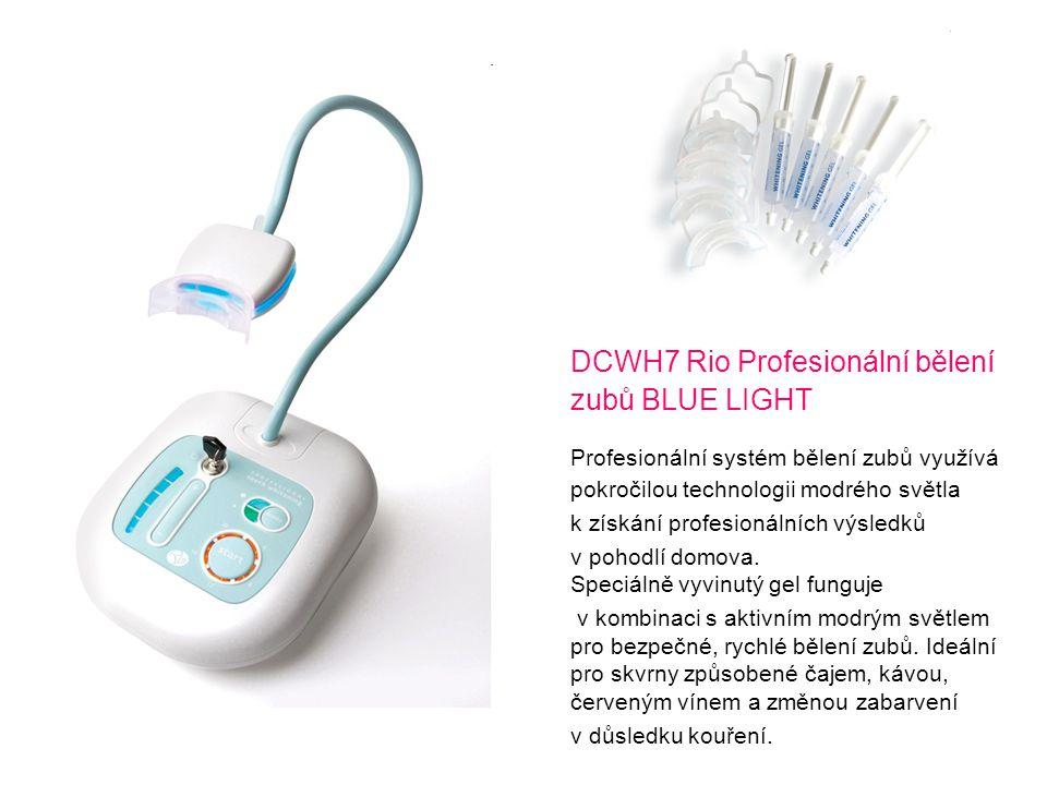 DCWH7 Rio Profesionální bělení zubů BLUE LIGHT