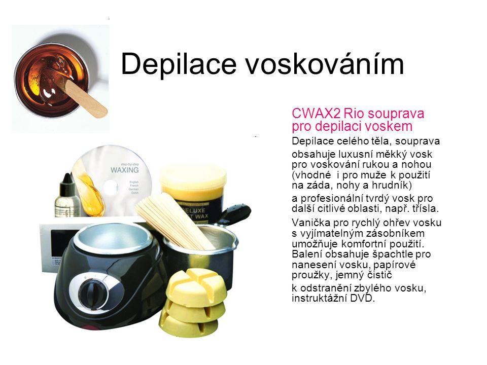 Depilace voskováním CWAX2 Rio souprava pro depilaci voskem