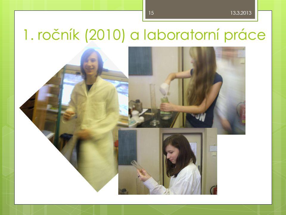 1. ročník (2010) a laboratorní práce