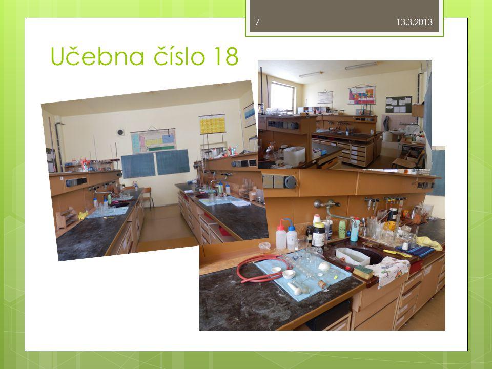 13.3.2013 Učebna číslo 18