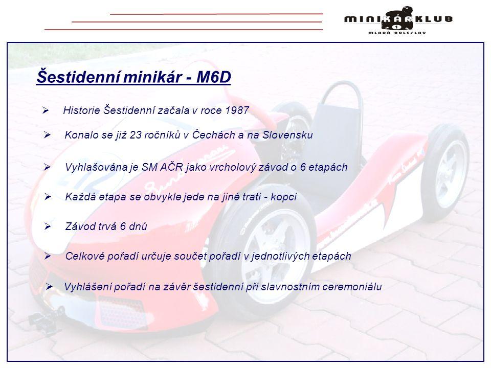 Šestidenní minikár - M6D