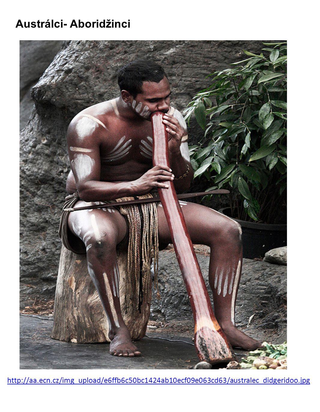 Austrálci- Aboridžinci