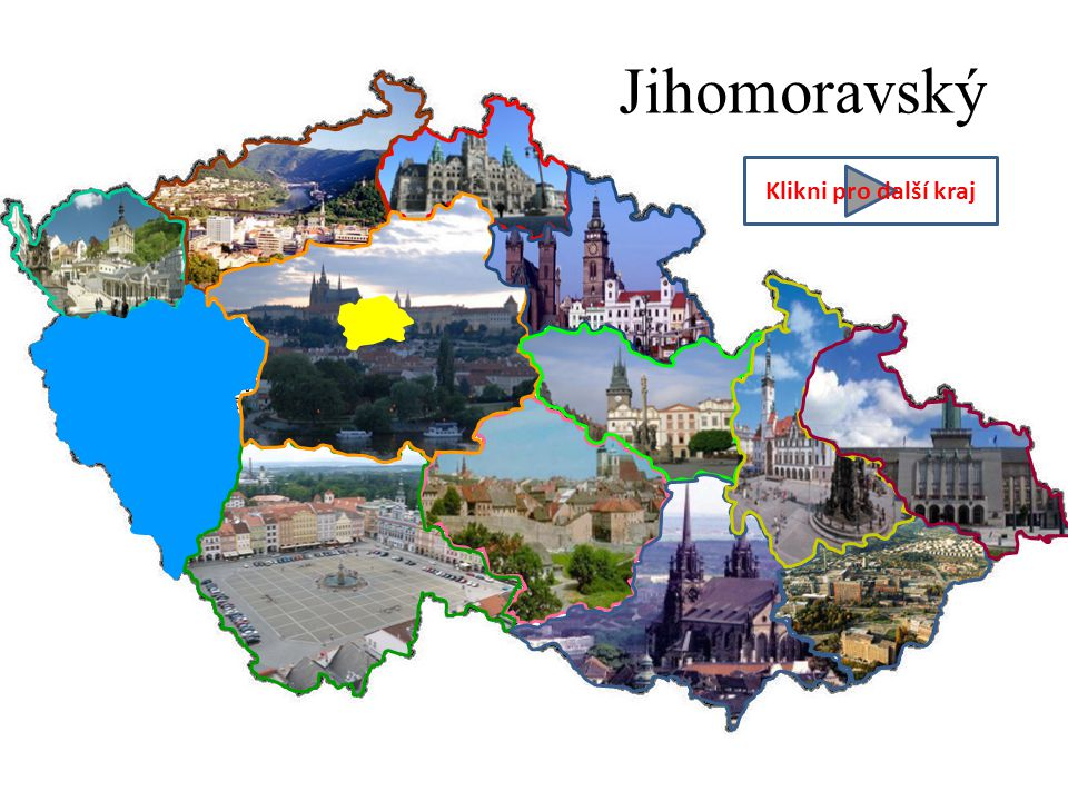 Jihomoravský Klikni pro další kraj