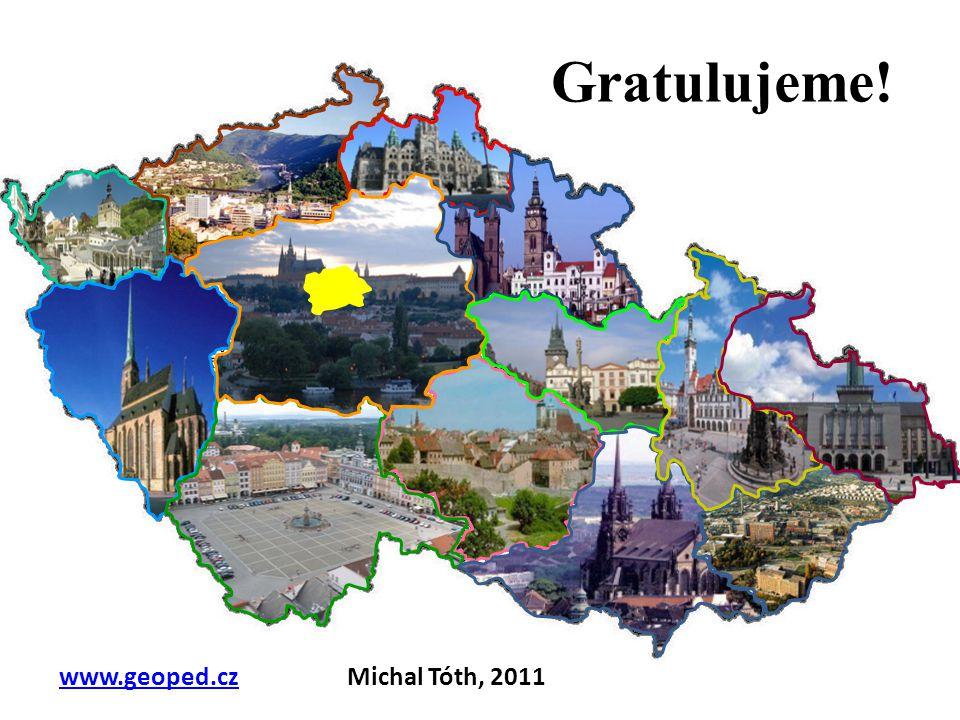 Gratulujeme! www.geoped.cz Michal Tóth, 2011