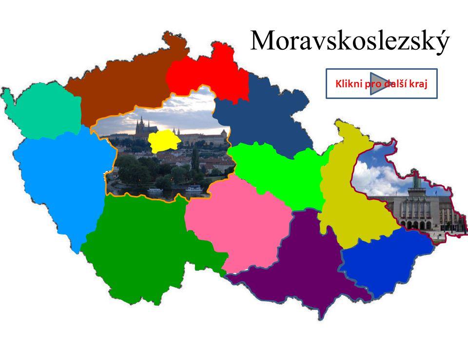 Moravskoslezský Klikni pro další kraj