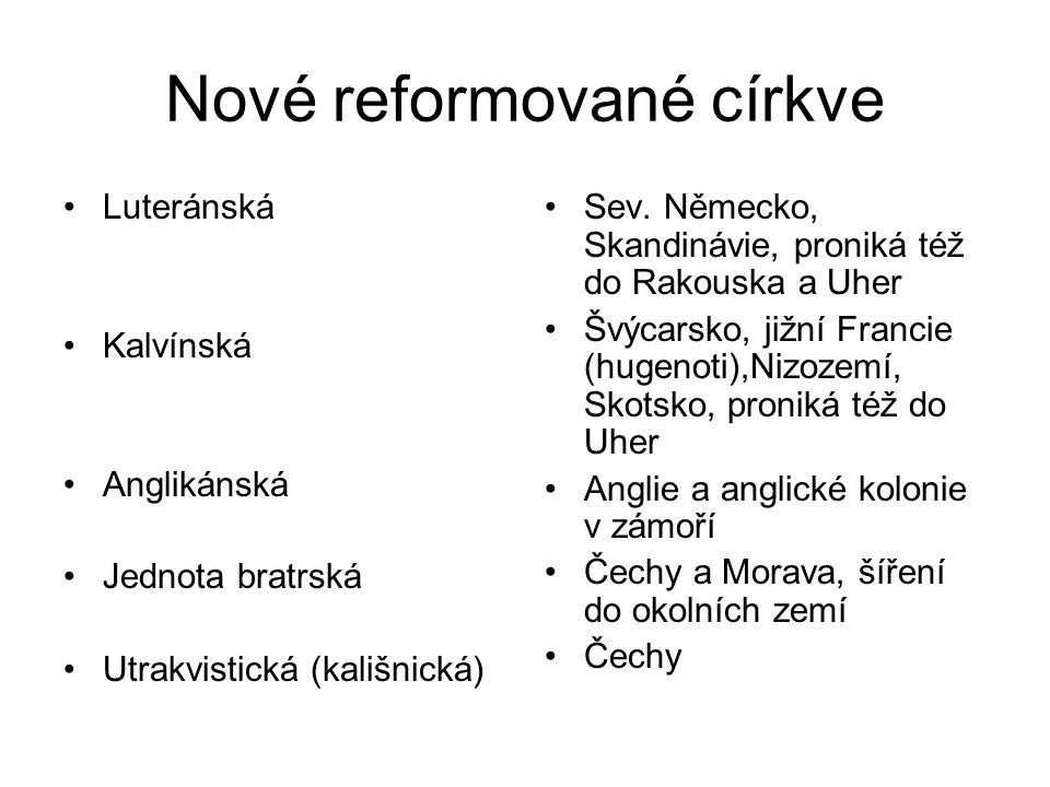 Nové reformované církve