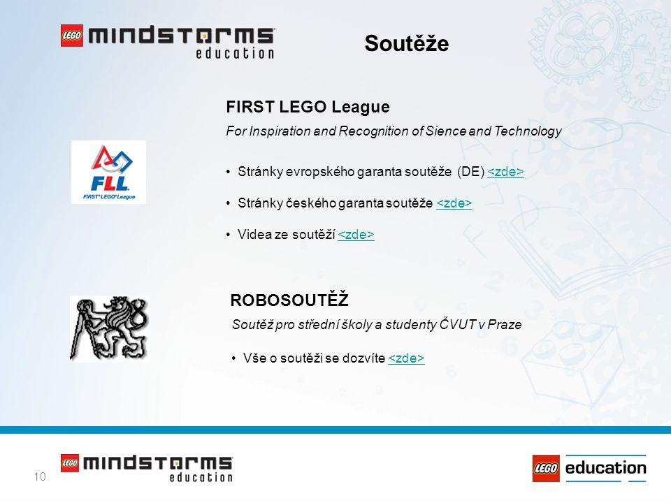 Soutěže FIRST LEGO League ROBOSOUTĚŽ