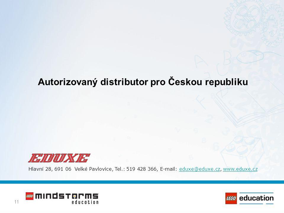 Autorizovaný distributor pro Českou republiku
