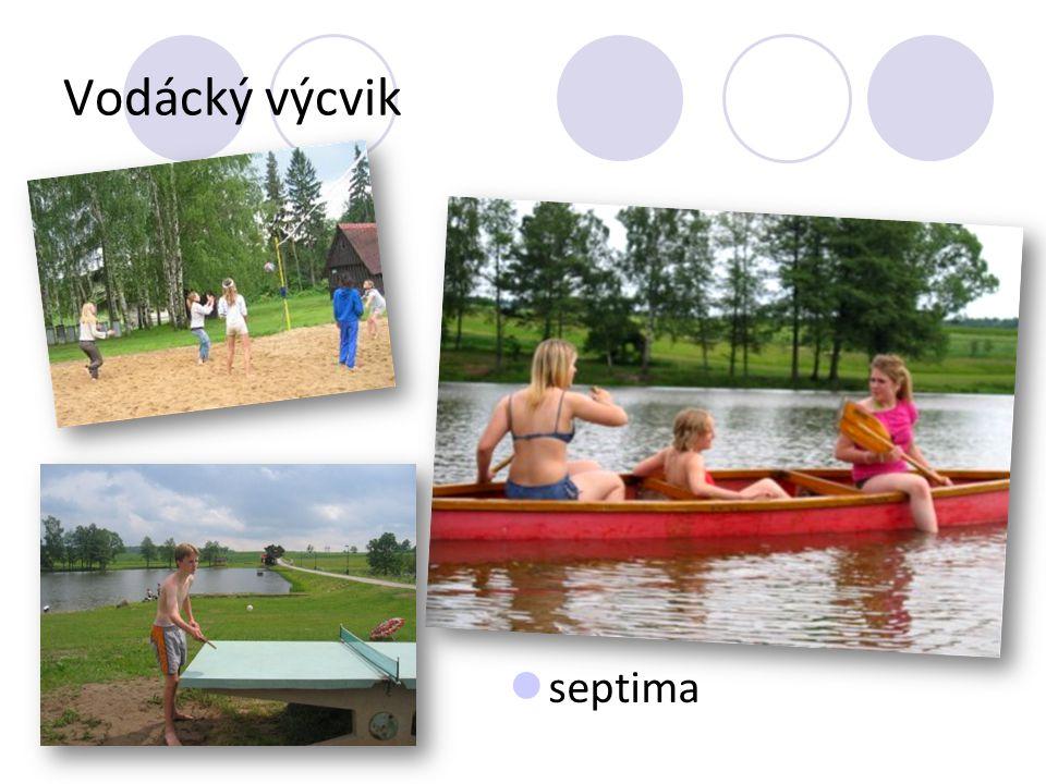Vodácký výcvik septima