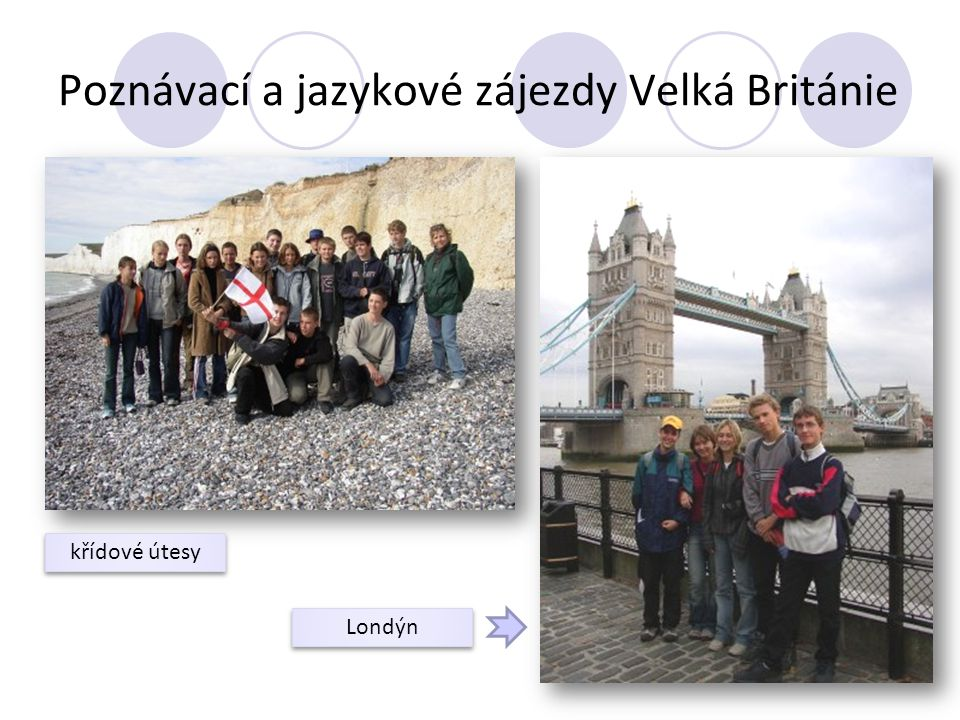 Poznávací a jazykové zájezdy Velká Británie