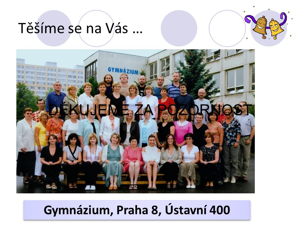 Gymnázium, Praha 8, Ústavní 400
