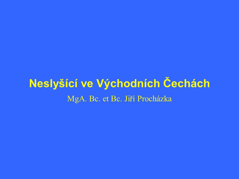 Neslyšící ve Východních Čechách