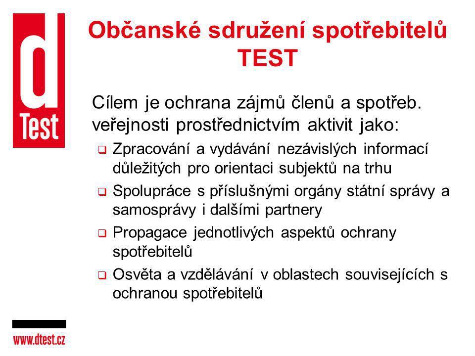 Občanské sdružení spotřebitelů TEST