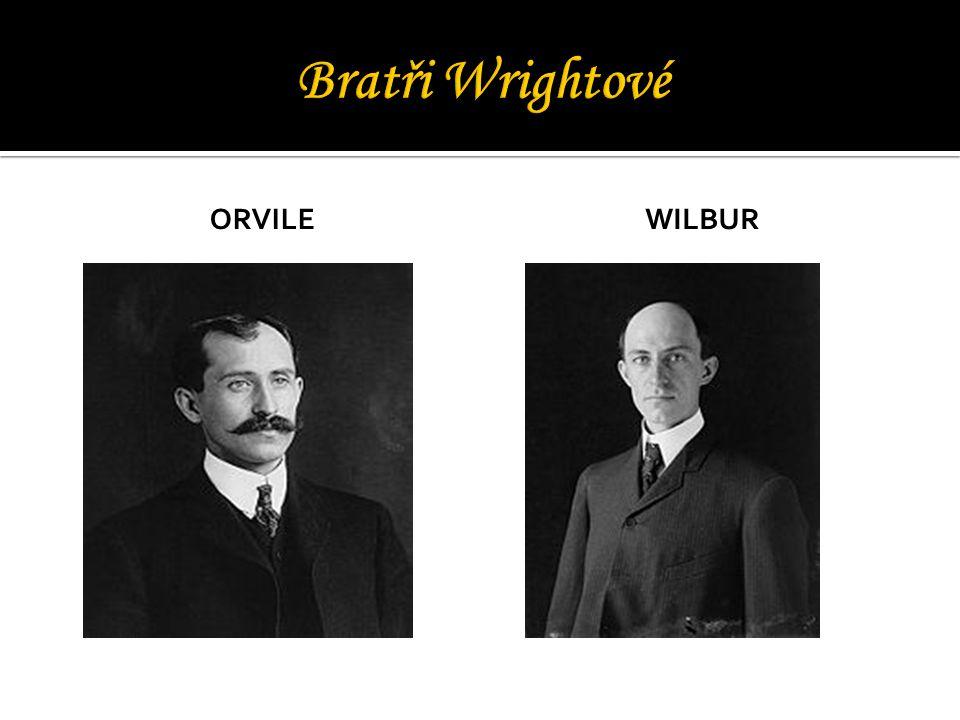 Bratři Wrightové Orvile Wilbur