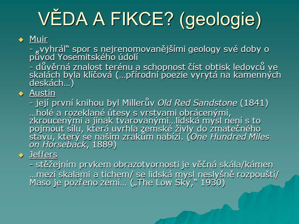 VĚDA A FIKCE (geologie)
