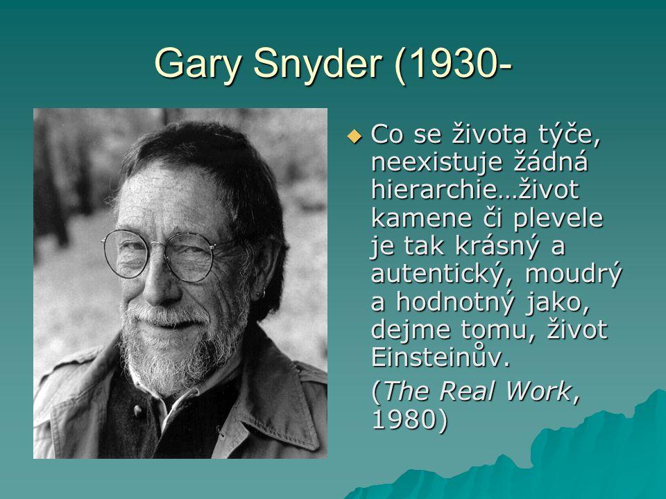 Gary Snyder (1930-