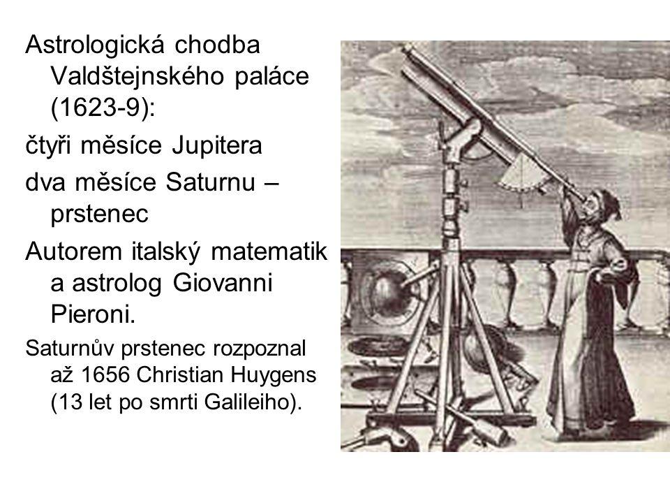 Astrologická chodba Valdštejnského paláce (1623-9):