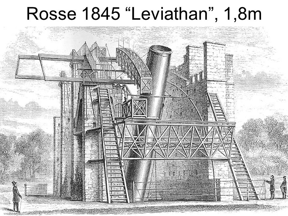 Rosse 1845 Leviathan , 1,8m