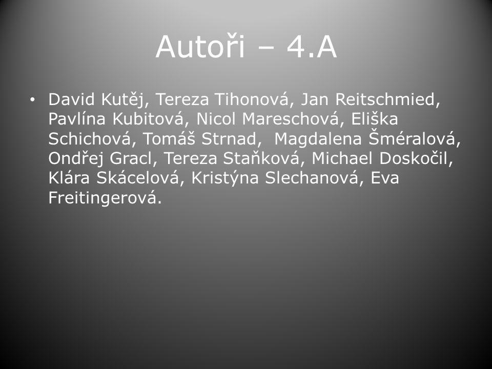 Autoři – 4.A