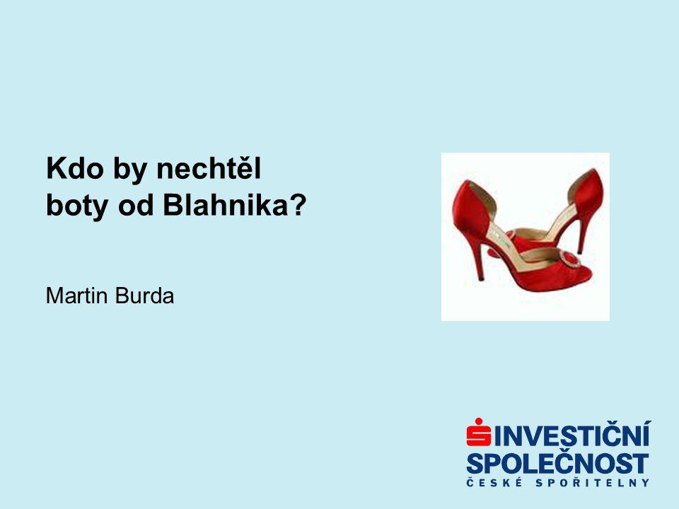 Kdo by nechtěl boty od Blahnika