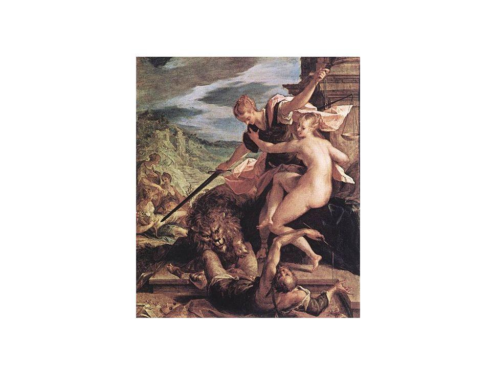 Hans van Aachen – Alegorie spravedlnosti