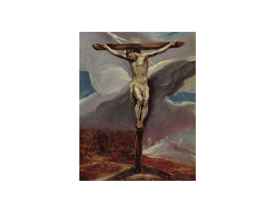 El Greco - Ukřižování