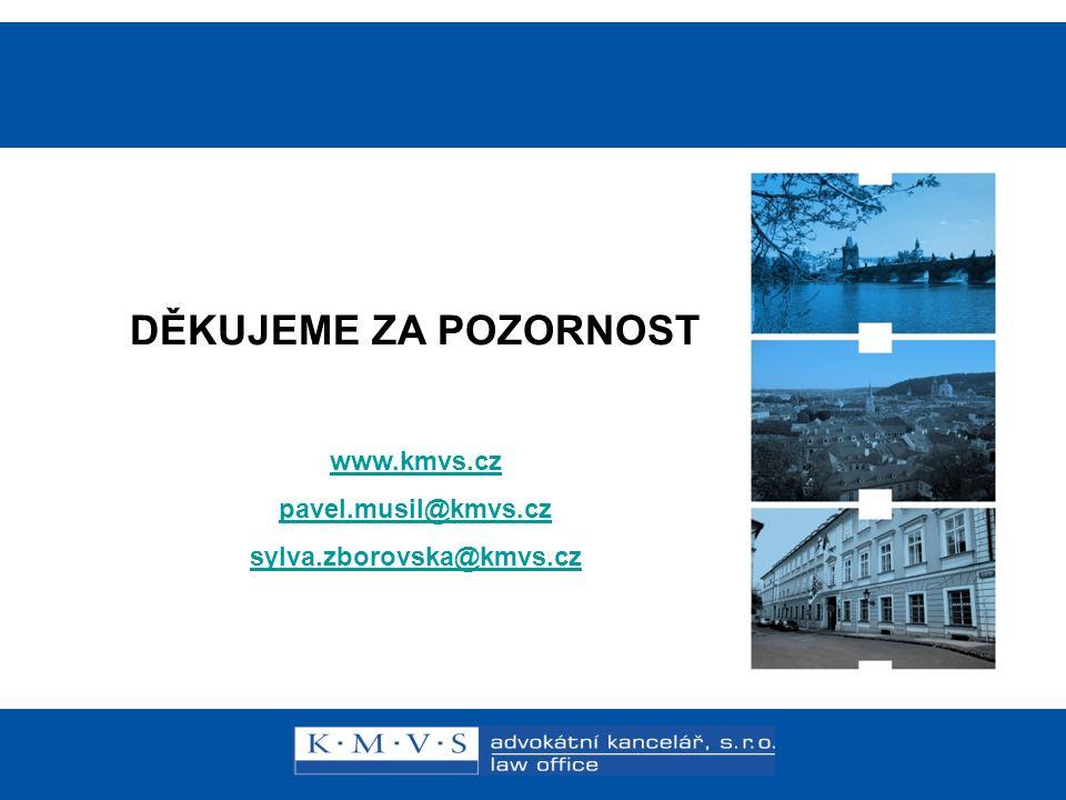 Reklamní právo v praxi DĚKUJEME ZA POZORNOST www.kmvs.cz